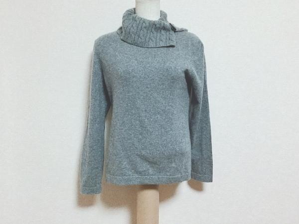VAN(バン) 長袖セーター サイズM レディース グレー タートルネック/カシミヤ