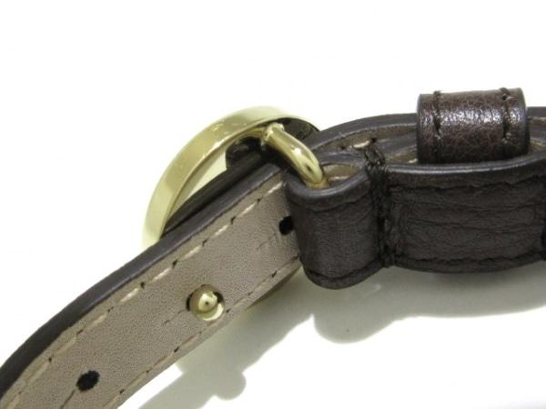 a66f646e486d ... BVLGARI(ブルガリ) ブレスレット美品 モネーテ レザー×金属素材 ...