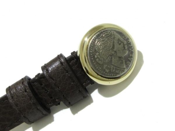 BVLGARI(ブルガリ) ブレスレット美品  モネーテ レザー×金属素材