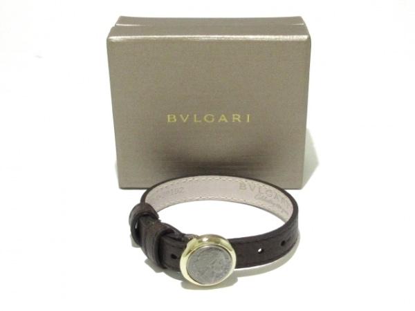 9fa95caf7eee BVLGARI(ブルガリ) ブレスレット美品 モネーテ レザー×金属素材の中古 ...