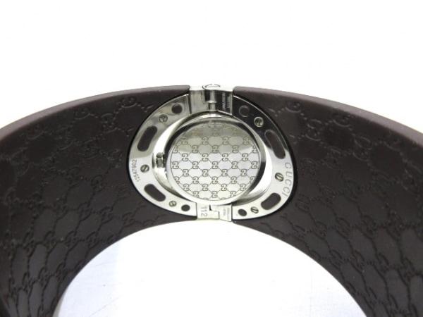 GUCCI(グッチ) 腕時計美品  トワールウォッチ 112/YA112421 レディース ラバーベルト