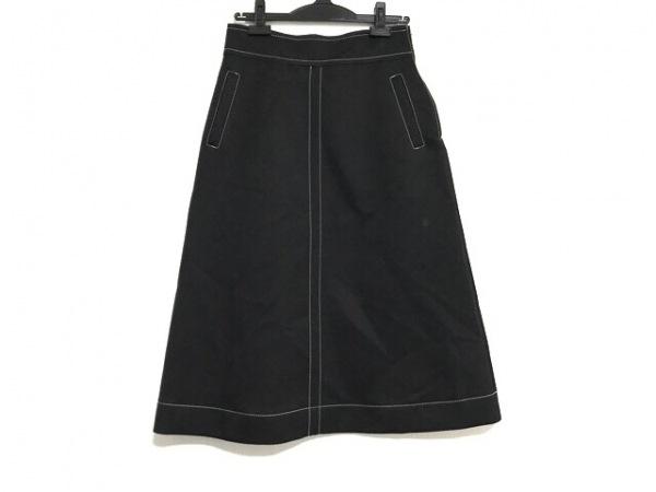 NARACAMICIE(ナラカミーチェ) ロングスカート サイズ2 M レディース美品  黒×白