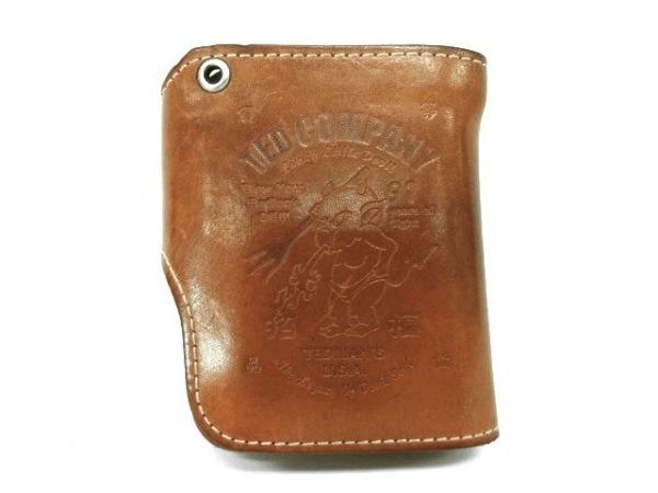 TEDMAN(テッドマン) 2つ折り財布 ブラウン レザー