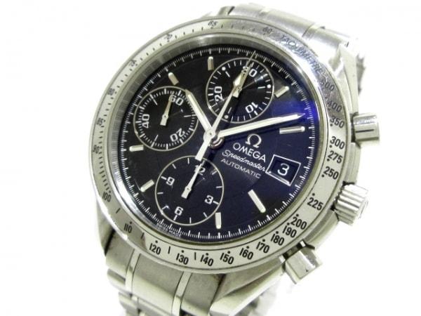 OMEGA(オメガ) 腕時計 スピードマスター デイト 3513.50 メンズ SS/クロノグラフ 黒