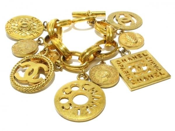 CHANEL(シャネル) ブレスレット 金属素材 ゴールド ココマーク