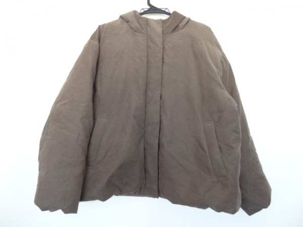23区(ニジュウサンク) ダウンコート サイズ50 XL レディース美品  ブラウン 冬物