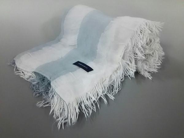 AMERICAN RAG CIE(アメリカンラグシー) ストール(ショール) F美品  白×ライトグレー