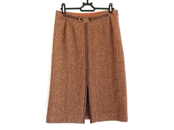 23区(ニジュウサンク) スカート サイズ40 M レディース美品  ダークブラウン