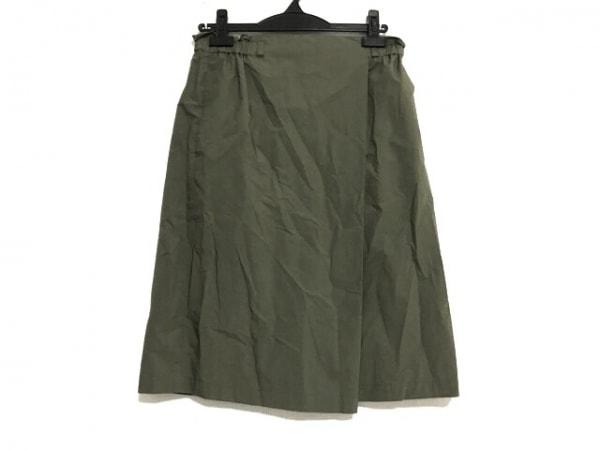 23区(ニジュウサンク) スカート サイズ40 M レディース美品  カーキ ウエストゴム