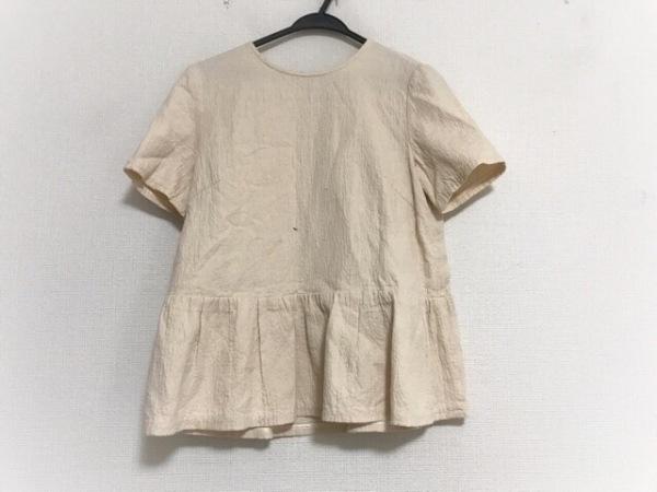 23区(ニジュウサンク) 半袖カットソー サイズ40 M レディース美品  ベージュ