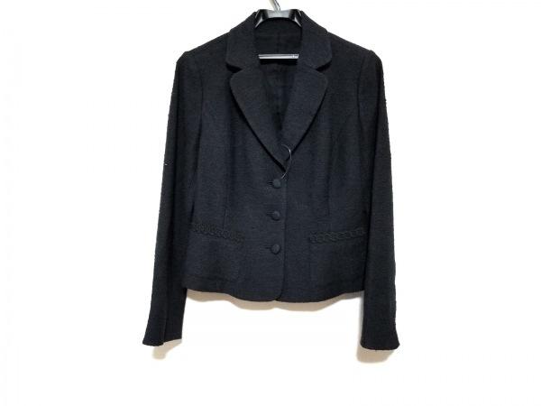 Leilian(レリアン) ジャケット サイズ11 M レディース美品  黒 ショート丈