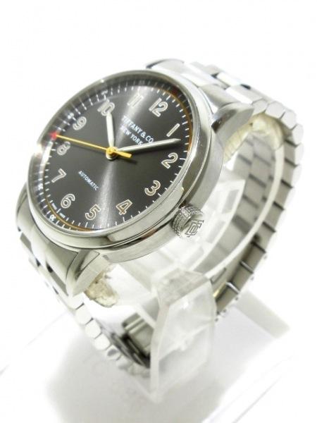 TIFFANY&Co.(ティファニー) 腕時計 CT60 34668345 メンズ SS/裏スケ ダークグレー