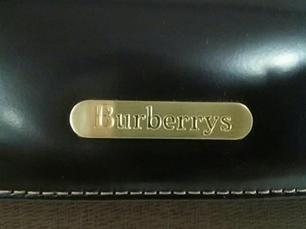 Burberry's(バーバリーズ) ハンドバッグ ブラウン×ダークブラウン レザー