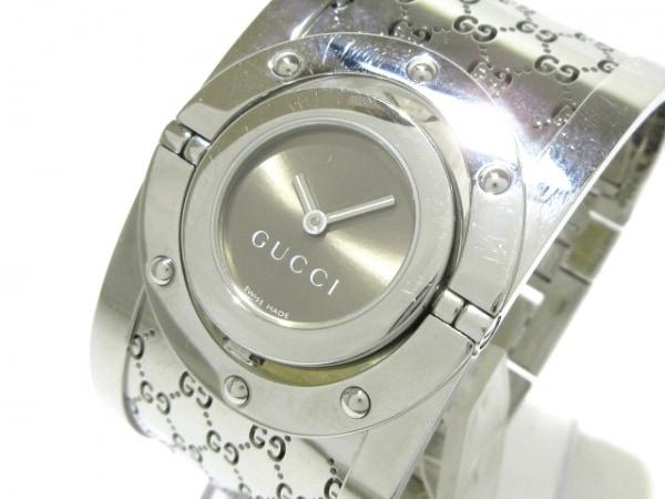 GUCCI(グッチ) 腕時計 112 レディース ブラウン