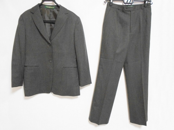 ニューヨーカー レディースパンツスーツ サイズ上13 下11 レディース美品