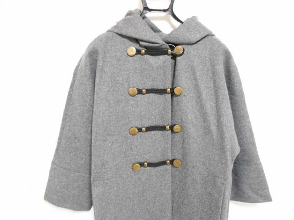 KEMIT(ケミット) コート サイズ38 M レディース美品  グレー 冬物