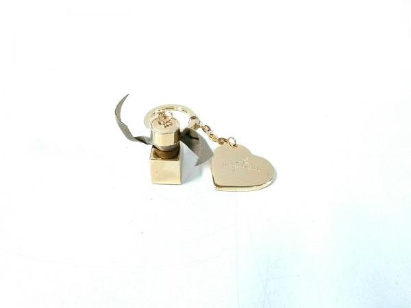 Burberry(バーバリー) キーホルダー(チャーム)新品同様  ゴールド 金属素材