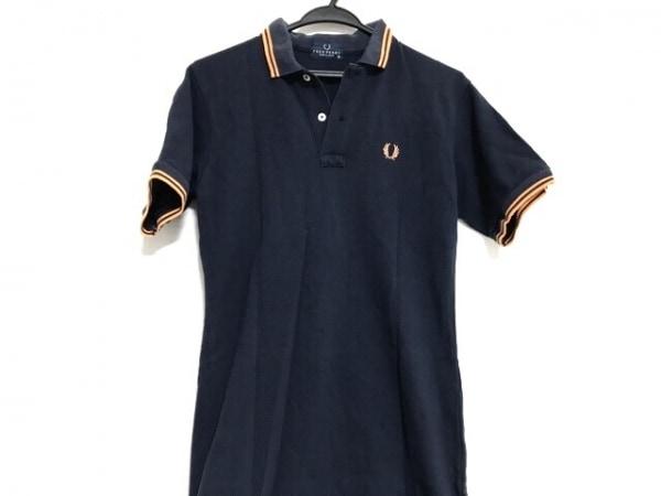 FRED PERRY(フレッドペリー) 半袖ポロシャツ サイズM レディース ネイビー