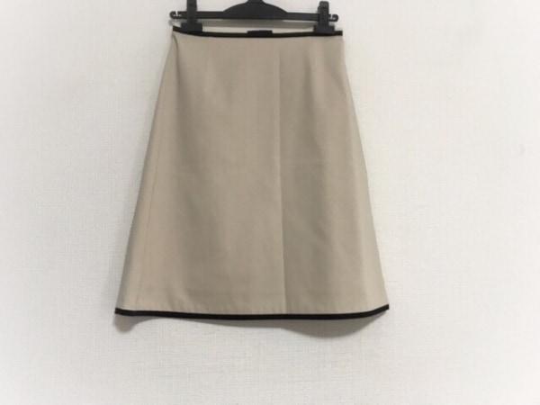 TOCCA(トッカ) ミニスカート サイズ2 S レディース美品  ベージュ×黒