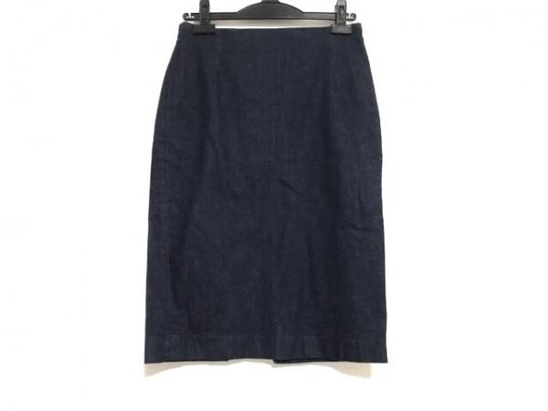 ウィムガゼット ミニスカート サイズ38 M レディース美品  ネイビー デニム