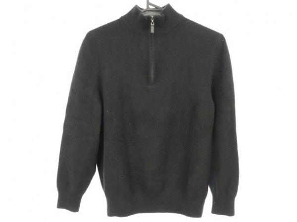 Burberry LONDON(バーバリーロンドン) 長袖セーター サイズM レディース 黒