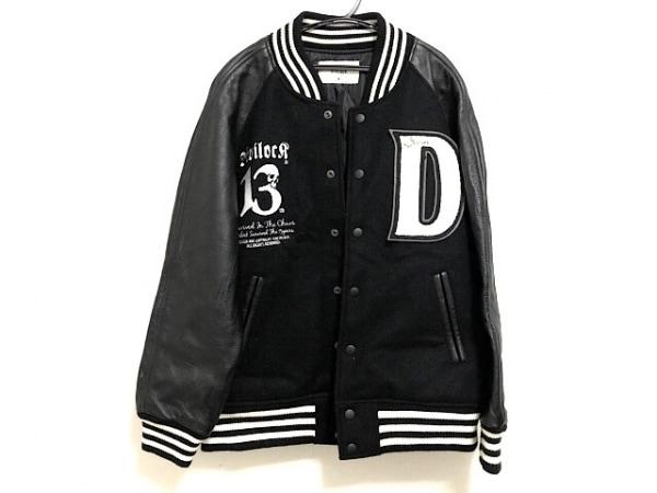 Devilock(デビロック) ブルゾン サイズM メンズ美品  黒×白