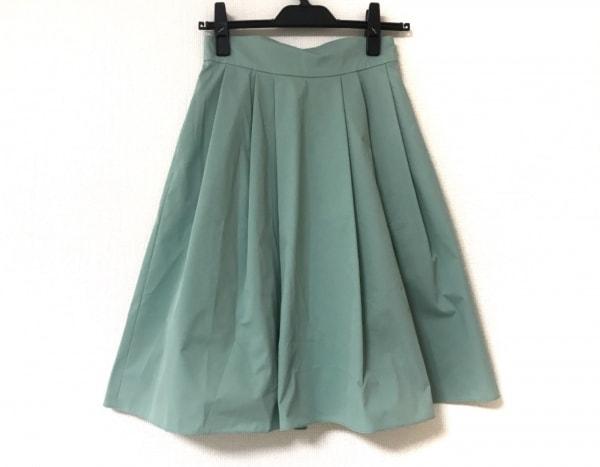 フォクシーニューヨーク スカート サイズ38 M レディース美品  ライトグリーン