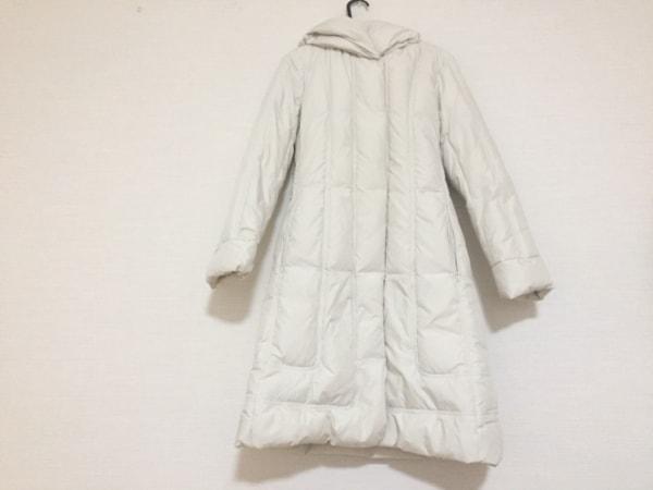 AMACA(アマカ) ダウンコート サイズ40 M レディース 白 冬物