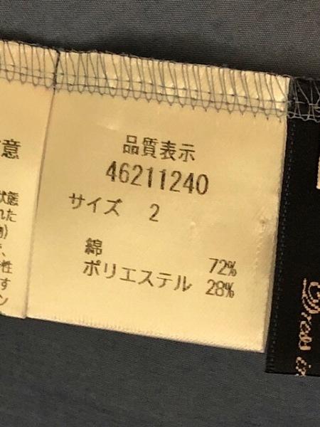 ジャスグリッティー ノースリーブカットソー サイズ2 M レディース新品同様  ブルー