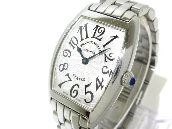 フランクミュラー 腕時計 トノーカーベックス 1752QZ レディース SS シルバー