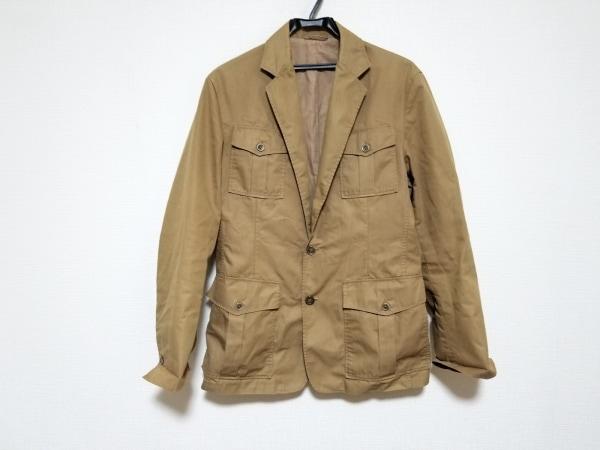 ジルサンダー ブルゾン サイズ46 L レディース美品  ライトブラウン 春・秋物