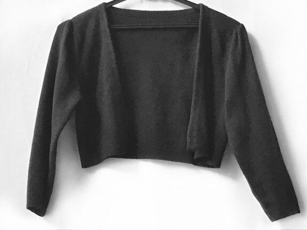 Tiaclasse(ティアクラッセ) ボレロ レディース美品  黒 ニット