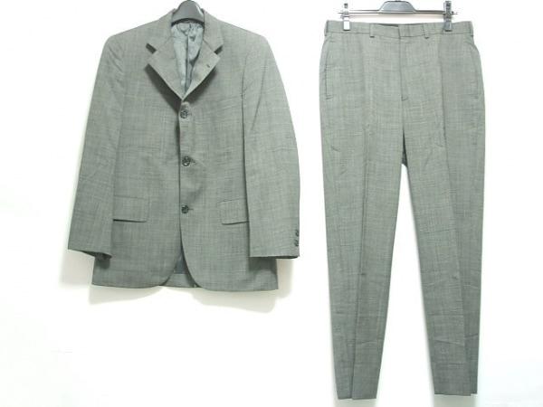 ブルックスブラザーズ シングルスーツ サイズ36SHT 30W メンズ グレー 346