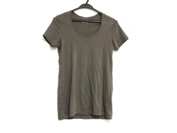 theory luxe(セオリーリュクス) 半袖Tシャツ サイズ38 M レディース美品  カーキ