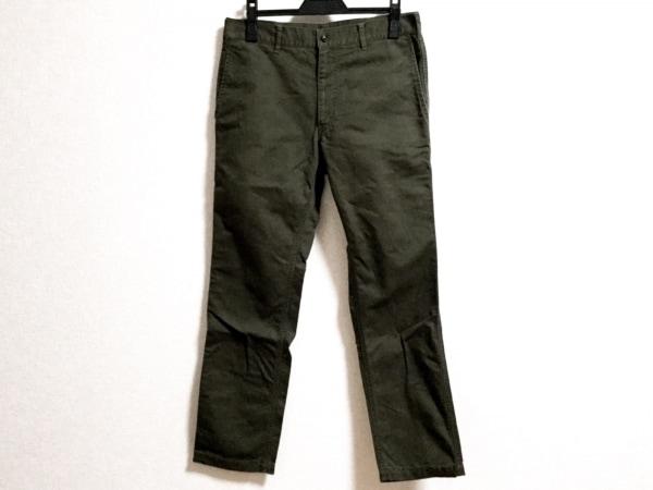 COMMEdesGARCONS HOMME(コムデギャルソンオム) パンツ サイズS メンズ ダークグリーン