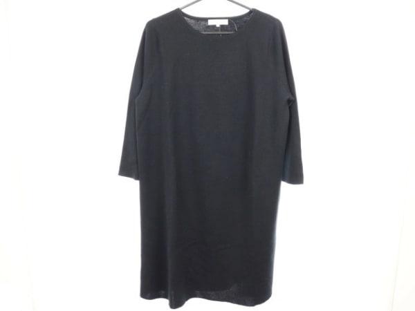 自由区/jiyuku(ジユウク) ワンピース サイズ46 XL レディース美品  黒 ニット