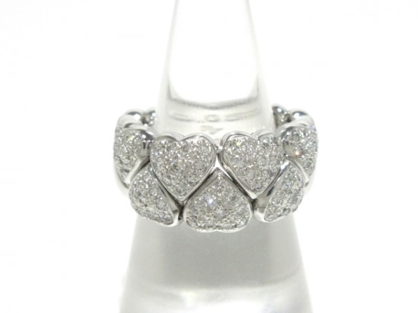 PonteVecchio(ポンテヴェキオ) リング美品  K18WG×ダイヤモンド