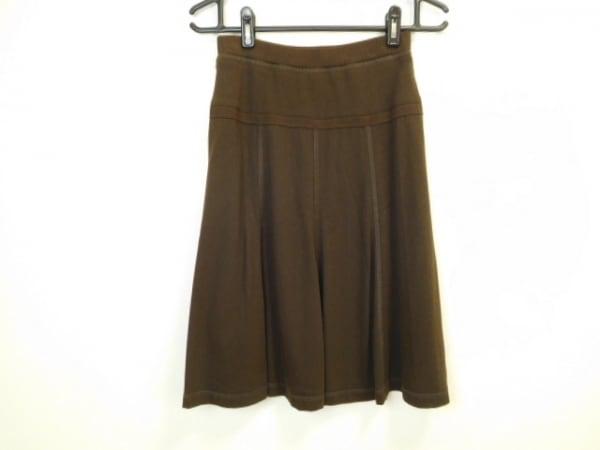SONIARYKIEL(ソニアリキエル) スカート サイズ40 M レディース ダークブラウン