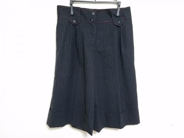 Lois CRAYON(ロイスクレヨン) ハーフパンツ サイズM レディース 黒×白×レッド