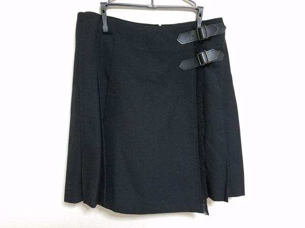 Lois CRAYON(ロイスクレヨン) パンツ サイズM レディース 黒 キュロット/プリーツ