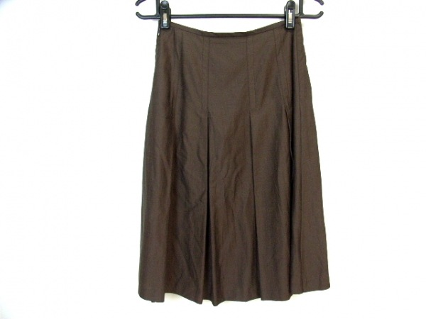 SONIARYKIEL(ソニアリキエル) スカート サイズ38 M レディース美品  ダークブラウン