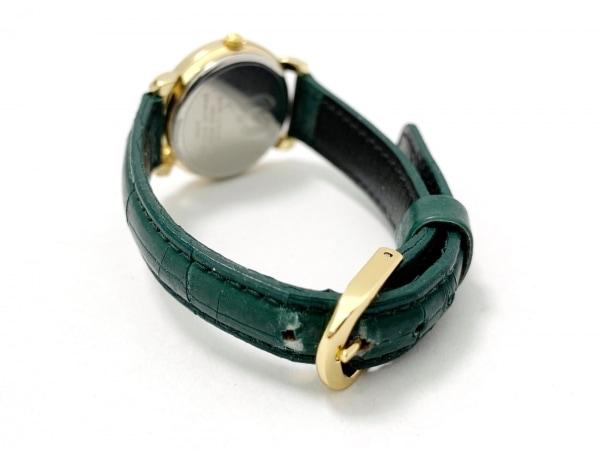 mila schon(ミラショーン) 腕時計 6031-L10918 K レディース 革ベルト ゴールド