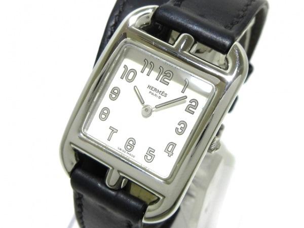 HERMES(エルメス) 腕時計 ケープコッド ダブルトゥール CC1.210 レディース 白