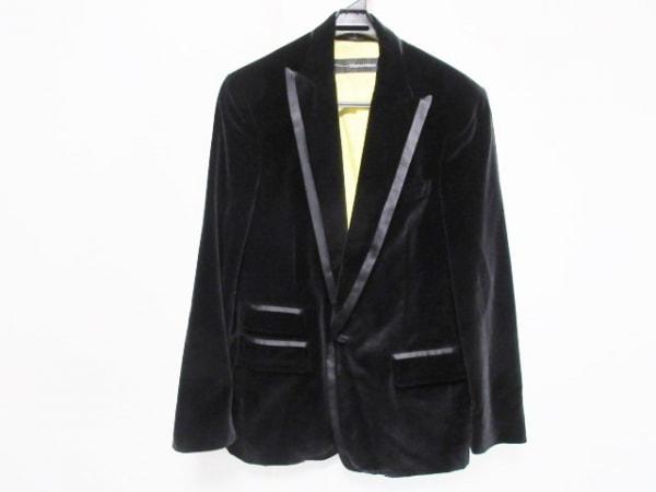 DSQUARED2(ディースクエアード) ジャケット サイズ46 S メンズ美品  黒 ベロア