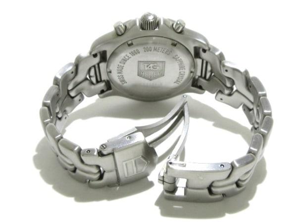 TAG Heuer(タグホイヤー) 腕時計 リンククロノ CT1111-0 メンズ SS/クロノグラフ 黒