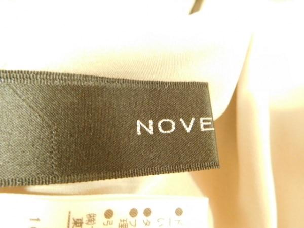 ノーベスパジオ ワンピース サイズ38 M レディース美品  ベージュ×ブラウン