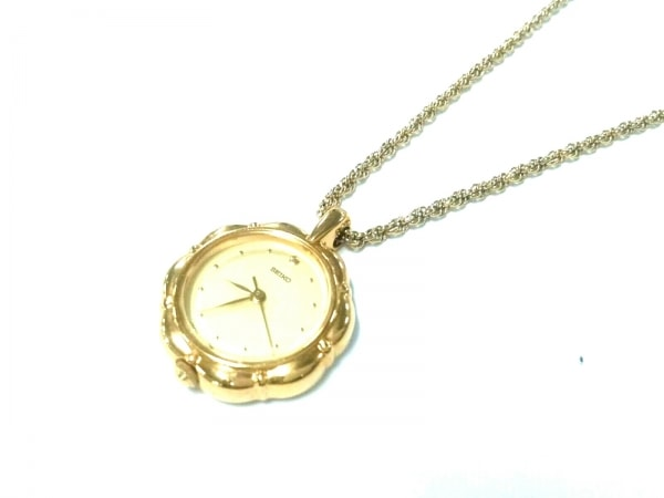SEIKO(セイコー) ネックレス美品  1F21-0A10 金属素材 ゴールド