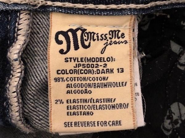 MissMe(ミスミー) ジーンズ サイズ27 M レディース ブルー レース/ラインストーン