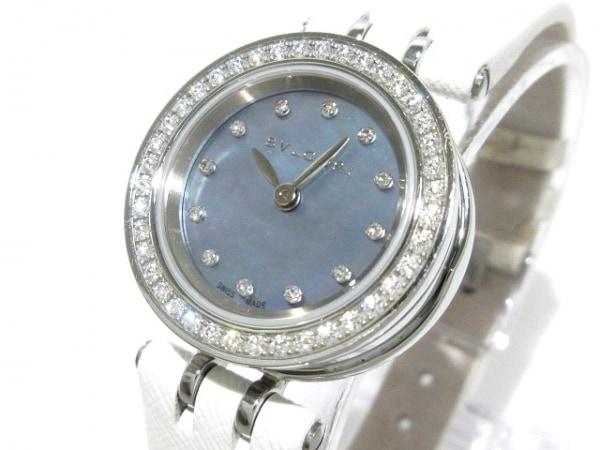 BVLGARI(ブルガリ) 腕時計 B-zero1 BZ23S レディース シェルブルー