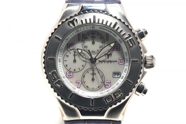 TECHNO MARINE(テクノマリーン) 腕時計 TMCX09 ボーイズ シェルホワイト